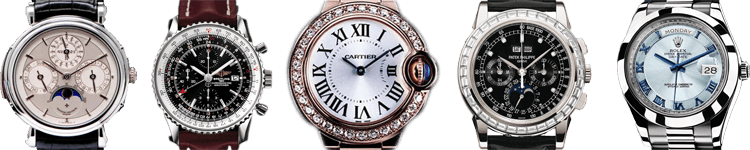 Get cash for watches in Mesa & Gilbert with colatteral loans from Oro Express Chandler